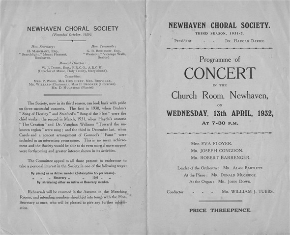 Photo: Illustrative image for the 'NEWHAVEN CHORAL SOCIETY' page