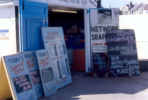 Photo:Fishermen's Shop on quayside