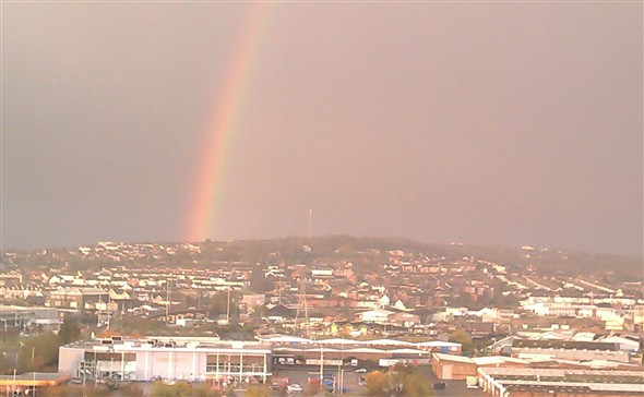 Photo:Fantastic Rainbow - 27.3.14