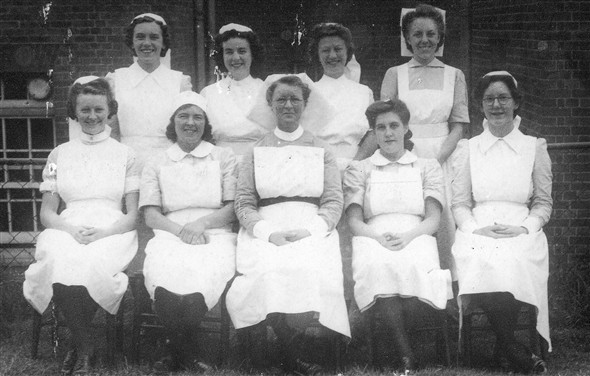 Photo:Nurses in 1945