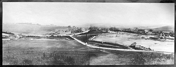 Photo:Panorama of Newhaven from long ago