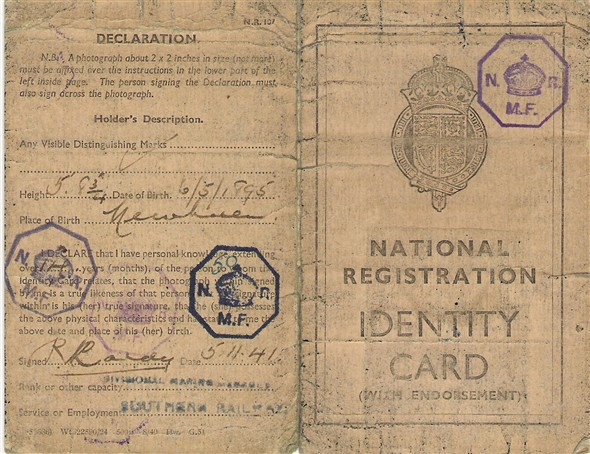 Photo: Illustrative image for the 'NATIONAL REGISTRATION IDENTITY CARD' page