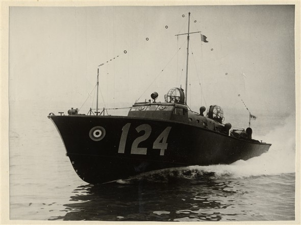 Photo: Illustrative image for the 'RAF AIR SEA RESCUE CRAFT No.124' page