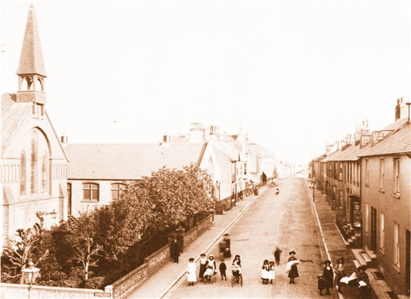 Photo:SOUTH ROAD (ELEVATED) 1910