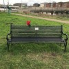 Page link: MEMORIAL BENCH POPPIES