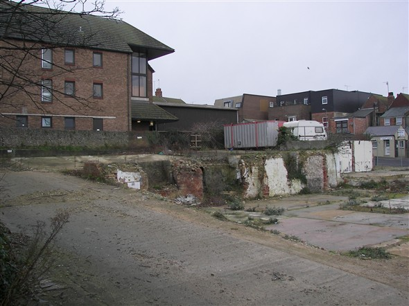 Photo:SAXONHOLME - DEMOLISHED