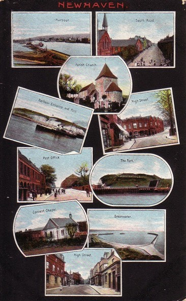 Photo:Montage of Newhaven - c1910