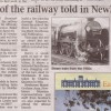 Page link: RAILWAY HISTORY LAUNCH AT NEWHAVEN TOWN STATION 2011