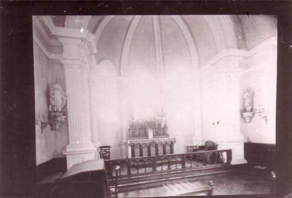 Photo:Inside Chapel