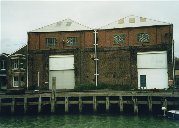 Photo:Harbour warehouse