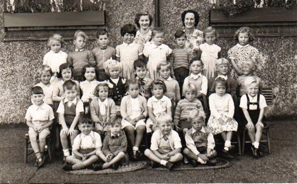 Photo:1st year class 1955