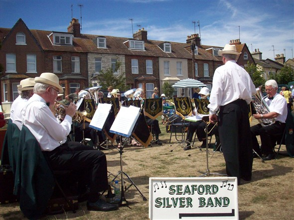 Photo:Seaford Silver Band
