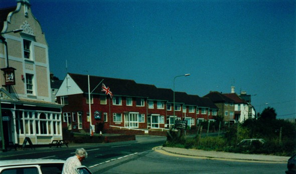 Photo:Fort Road West Quay Junction - 1994