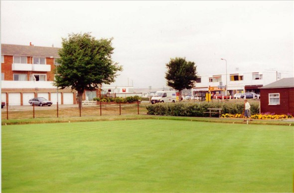 Photo:BOWLS GREEN TOWARDS  CORAL STORES 1994