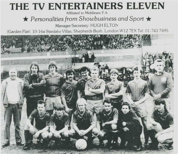 Photo:TV Entertainers XI from 1986
