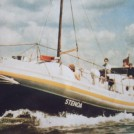 "Photo:Mid 1980`s as the yacht/houseboat ""Stenoa"" two photograph`s."