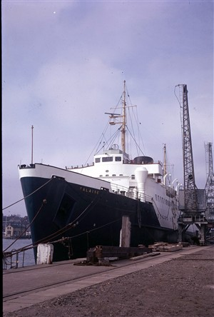 Photo:Falaise at the East Quay, post 1965