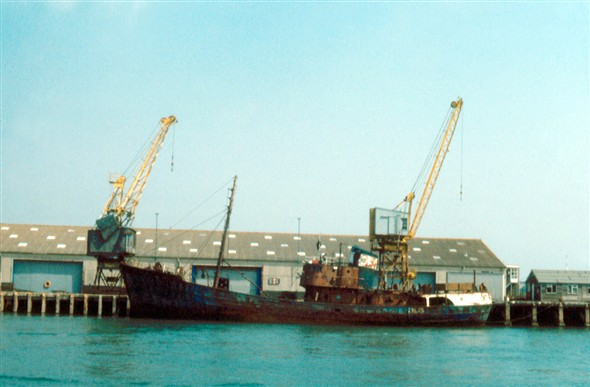 Photo:LH 73 Joe Croan Built in 1956 by John Lewis & Son of Aberdeen for Carnie & Croan Ltd. In 1970 she became part of the British United Trawlers fleet