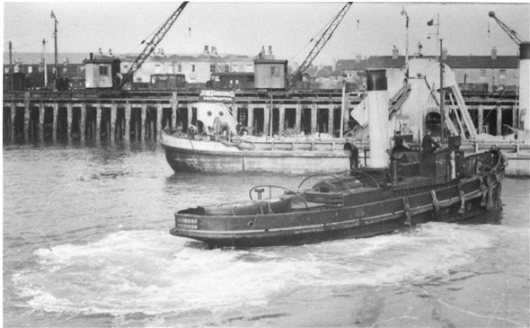 Photo: Illustrative image for the 'HARBOUR TUG' page