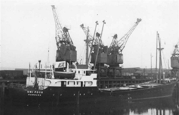 Photo:Uni Porr owned by Franz Hagen built 1953 and of 865 gross tons