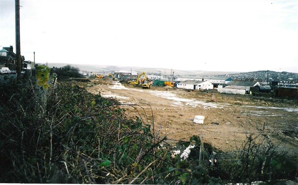 Photo:View from Fort Road - 14/12/00