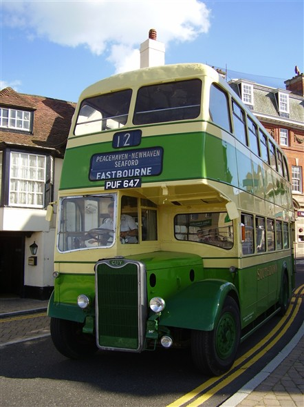 Photo: Illustrative image for the 'SOUTHDOWN BUS IN BRIDGE STREET' page