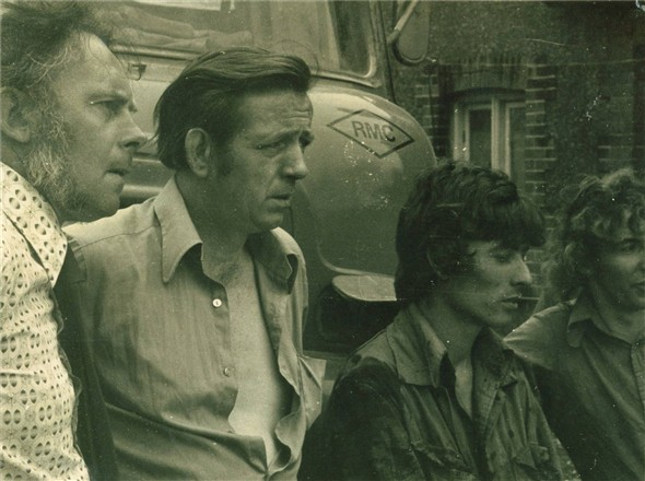 Photo:Arrow staff - ? , Nevill Clegg, Dave Harvey, Floyd Patterson