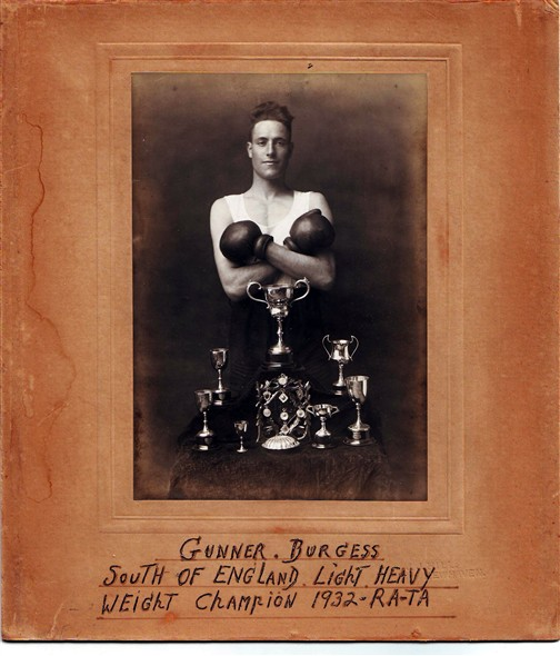 Photo: Illustrative image for the 'JOHN BURGESS - OUR LOCAL BOXING CHAMPION' page