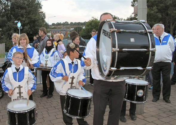 Photo:Newhaven Youth Marching Band