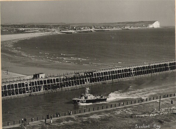 Photo:Post war 1960's photo of HSL entering Newhaven harbour.