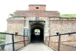 Photo:Entrance to the Fort