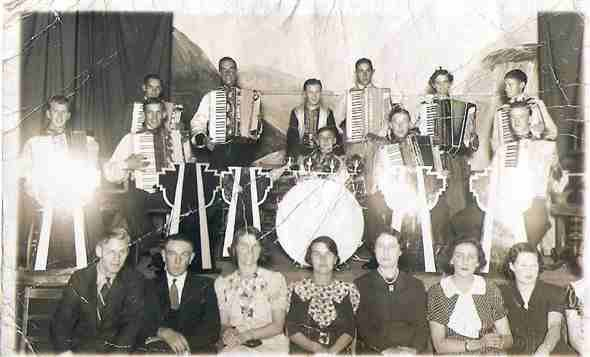 Photo:Jack Ives Band 1930's (Top Right Ron Player)