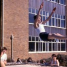 Photo:Trampolining near C block