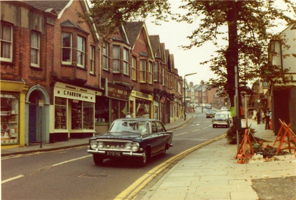 Photo:LOOKING UP FROM MEECHING RD JUNCTION - 1971