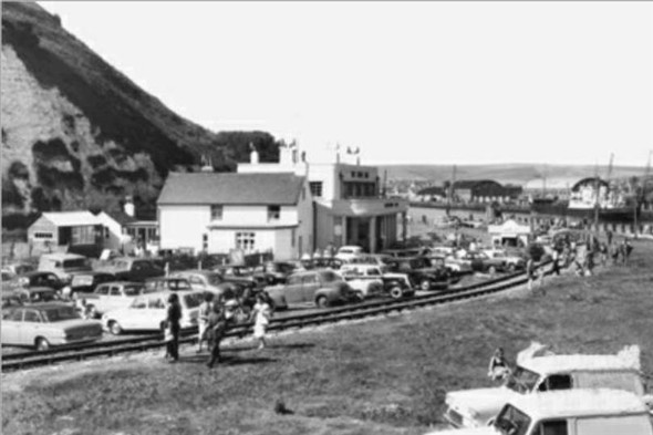 Photo:Hope Inn and the Tramway - c1964