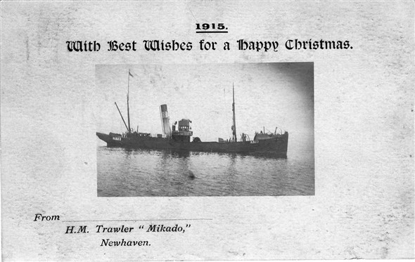 Photo: Illustrative image for the 'H.M. TRAWLER 'MIKADO'' page