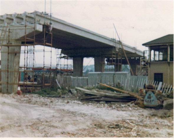Photo: Illustrative image for the 'THE FLYOVER UNDER CONSTRUCTION OVER THE RAILWAY LINE' page