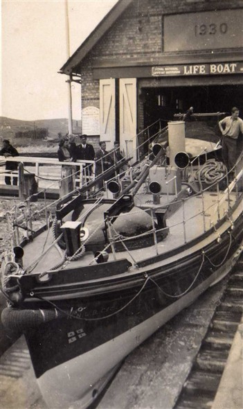 Photo: Illustrative image for the 'NEWHAVEN LIFEBOAT HOUSE AND THE 'CECIL AND LILIAN PHILPOT'' page