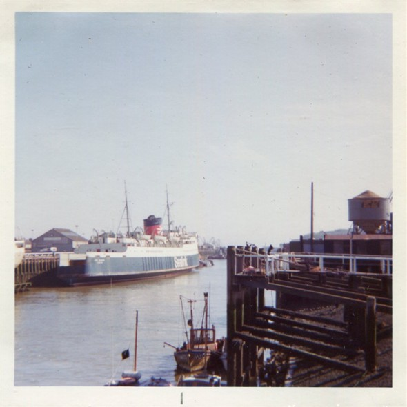 Photo:The ferry Lord Warden at the Railway Quay