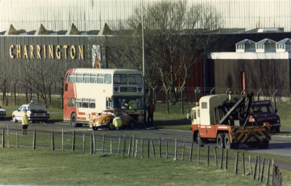 Photo:1987, Charringtons where Sainsburys is now.