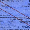 Page link: DOCK PERMITS WORLD WAR II