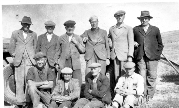 Photo:Fred Moon, back row, third from right