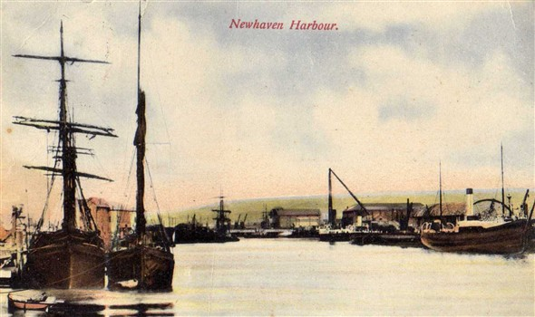 Photo:Postcard posted 30th August 1907