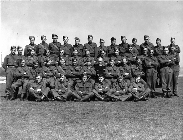 Photo:Home Guard, WWII - Fred Moon third row, third from left