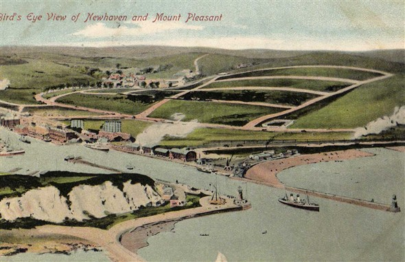 Photo: Illustrative image for the 'BIRDS EYE VIEW OF NEWHAVEN' page