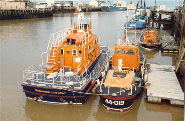 Photo: Illustrative image for the 'LIFEBOAT CHANGEOVER' page