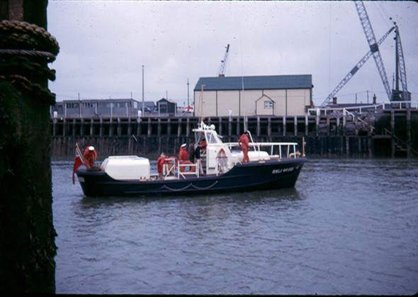 Photo: Illustrative image for the 'VISITING LIFEBOAT 1964' page