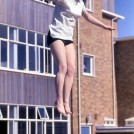 Photo:Liz Gilbert trampolining