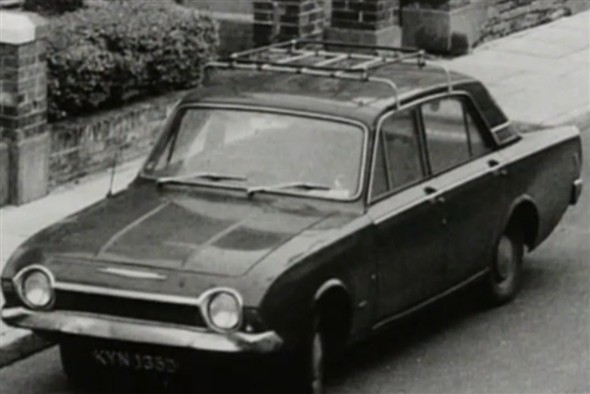 Photo:Lucan's Car Reg - KYN ?35D - 1974