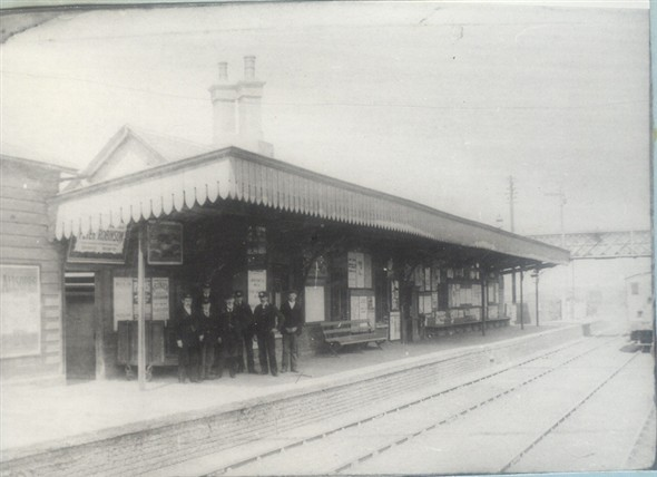 Photo: Illustrative image for the 'NEWHAVEN TOWN RAILWAY STATION' page